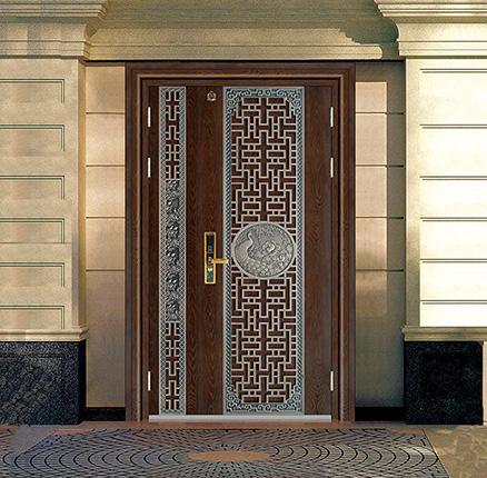 立体拼接不锈钢钢门