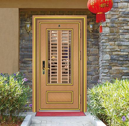 不锈钢韩式单色门