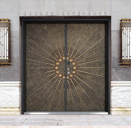 天佰门业不锈钢门